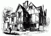 Abraham Cowley's Chertsey house