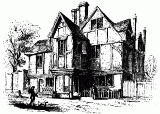 Abraham Cowley - Abraham Cowley's Chertsey house