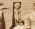 Abu Simbel Horus god.jpg
