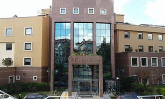 Acıbadem Healthcare Group - Acıbadem Hospital in Acıbadem neighborhood of Kadıköy, Istanbul, Turkey.