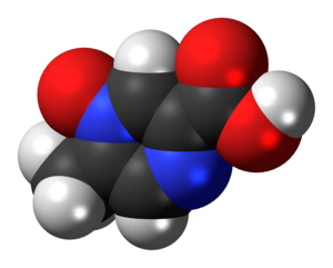 Acipimox - Image: Acipimox 3D spacefill