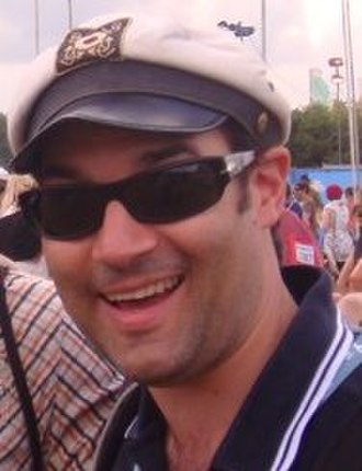 Adam Buxton - Buxton at the Glastonbury Festival in 2009