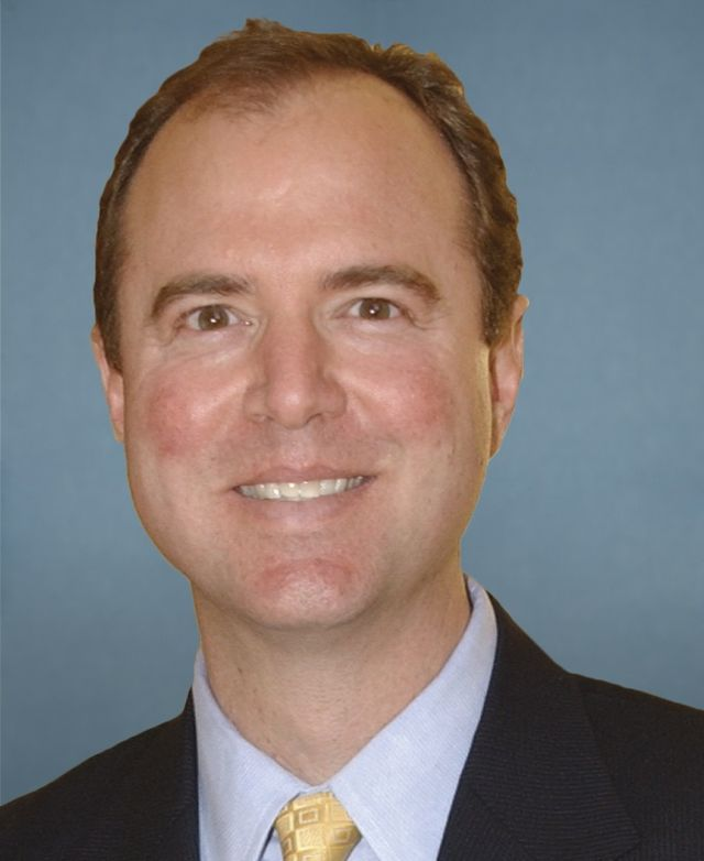 Rep. Adam Schiff -- Can't share evidence.