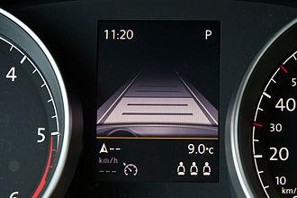 Autonomous cruise control system - Autonomous cruise control on VW Golf