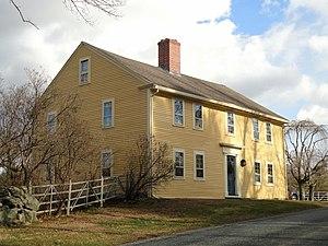 Addington Gardner House - Image: Addington Gardner House Sherborn, Massachusetts DSC02983