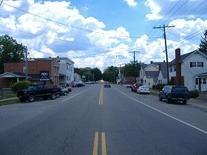 Adelphi, Ohio - Along State Route 180