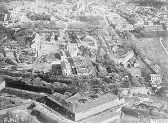 Verdun - Citadel of Verdun during World War I.