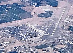 Yuma International Airport - Aerial View