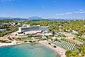Aerial view of AKS Hinitsa Bay Resort in Porto Heli, Greece (48760327307).jpg
