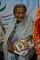 Aged Woman with New Clothing - Baganda - Hooghly 2014-09-28 8458.JPG