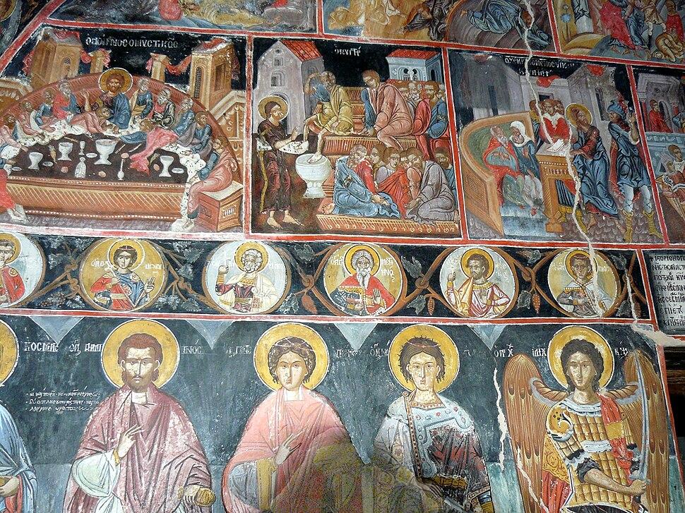 Agias Triados frescos 2