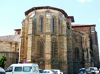 Aguilar de Campoo - Apse of the Collegiate Church of Saint Michael
