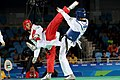 Ahmad Abughaush, 2016 Summer Olympics in Rio de Janeiro, men's 71 kg,.jpg