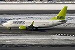 Air Baltic, YL-BBJ, Boeing 737-36Q (40451551214).jpg