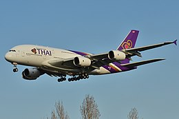 Airbus A380-800 Thai AW (THA) F-WWSE - MSN 122 - Will be HS-TUD - Named Phayuha Khiri (10295490886).jpg