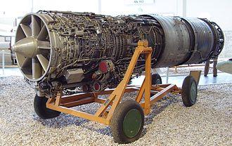 Militärhistorisches Museum Flugplatz Berlin-Gatow - Ljulka AL-21 F3