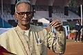 Ajoy Basu With His Dayanxin Quartz Golden Pocket Watch - Kolkata 2018-01-28 0744.JPG