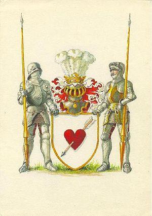 Sergey Aksakov - The Aksakov Family Coat of Arms.