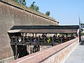 Alba Carolina Fortress 2011 - Restaurant on the Bridge.jpg