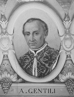 Alberico Gentili Italian jurist