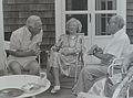 Alfred Eisenstaedt with Walter Cronkite on Martha's Vineyard.jpg