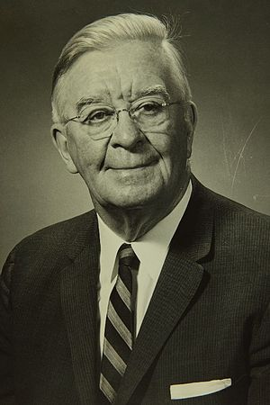 Alfred V. Verville - Alfred Verville while at the Bureau of Aeronautics (c. 1955)
