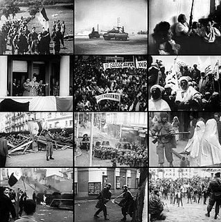 Algerian War war between France and the Algerian independence movement from 1954 to 1962