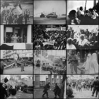 Algerian War - Image: Algerian war collage wikipedia