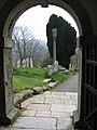 All Saints, Godshill, porch - geograph.org.uk - 1028957.jpg