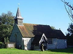 All Saints, Tunworth - geograph.org.uk - 256760.jpg