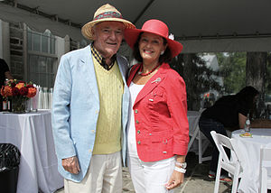 Allan Fotheringham - Allan and Anne Fotheringham at the Canadian Film Centre BBQ (2012)