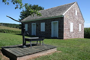 National Register of Historic Places listings in Berks County, Pennsylvania - Image: Alleghany Mennonite Meetinghouse 02