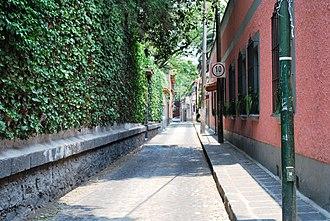 Coyoacán - A street in Coyoacán