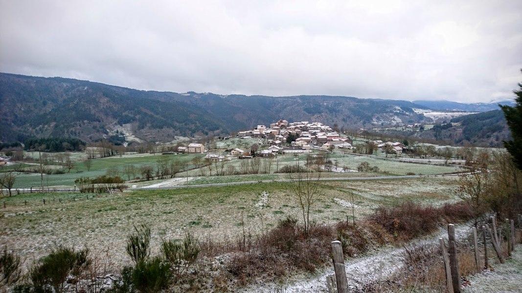 Le village en Mars 2016