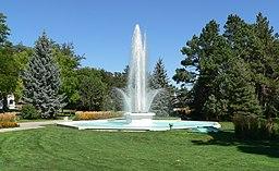Alliance Central Park fountain 3