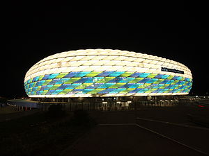 2012 UEFA Champions League Final - The Allianz Arena in Champions League final livery