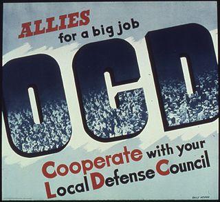 Office of Civilian Defense United States civil defense