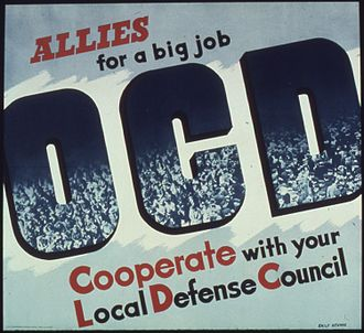 Office of Civilian Defense - Allies for a big job, Office for Emergency Management. Office of War Information, 1941-1945