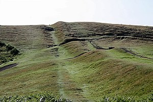 British Camp - Along the Shire Ditch to Broad Down