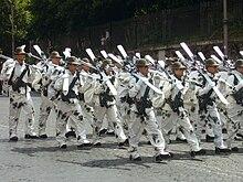 Alpini sciatori dell 8º Reggimento sfilano alla parata del 2 giugno 2010 5399c2e3244b
