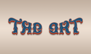 Ambigram The art.png
