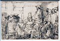 Amsterdam - Rijksmuseum - Late Rembrandt Exposition 2015 - Jesus Disputing with the Doctors the Smaller Print 1654 A.jpg