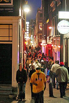 red light district amsterdam wikipedia
