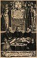 An anatomical dissection by Jean Riolan the younger (1580-16 Wellcome V0010437.jpg