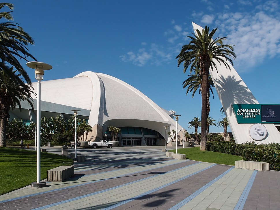 Anaheim Convention Center Front view 2013