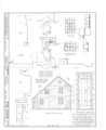 Ananias Conklin House, Main Street, Amagansett, Suffolk County, NY HABS NY,52-AMGA,1- (sheet 3 of 7).png