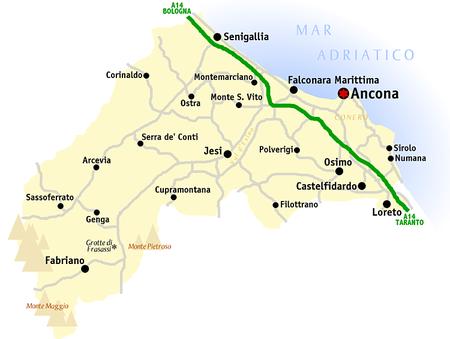 Litorale Marche Cartina.Marca Anconitana Wikivoyage Guida Turistica Di Viaggio