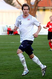 Anders Ågnes Konradsen (Strømsgodset IF) - Norway national under-21 football team (01).jpg