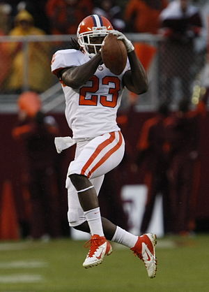Andre Ellington - Andre Ellington catching a ball at Clemson
