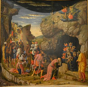 Adoration of the Magi (Mantegna) - Image: Andrea Mantegna 001
